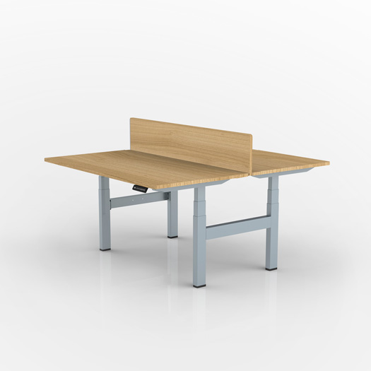 Double-piece table